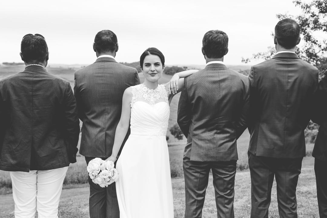 photo mariée noir et blanc glup Production