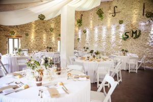 photo salle repas mariage glup production