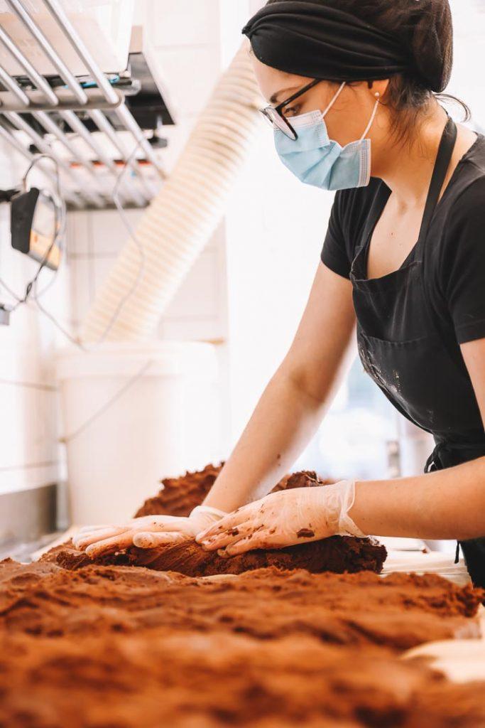 photo preparation entreprise scoop me a cookie glup production