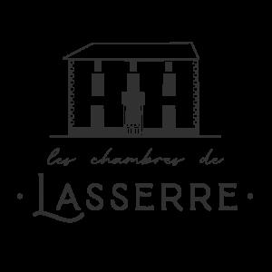 Logo de les chambres de Lasserre