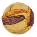 Photo packshot cookie vanille banane scoop me a cookie