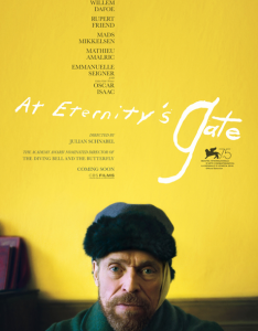 affiche film at eternity's gate